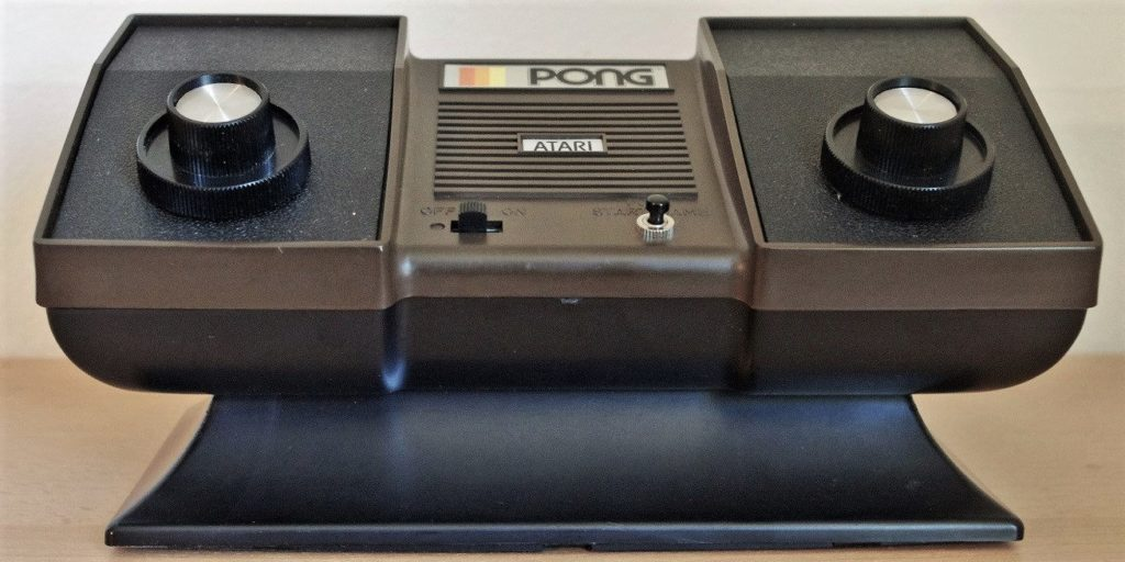 PONG C 100 Game Console, 1976