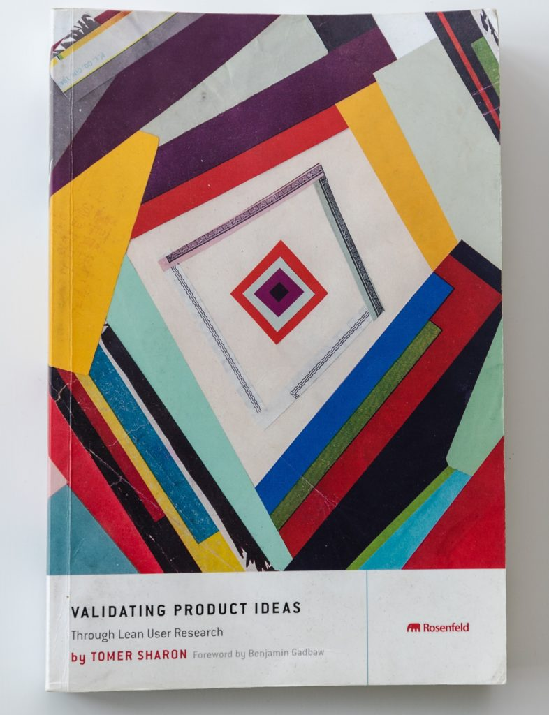 Tomer Sharon Validating Product Ideas book cover