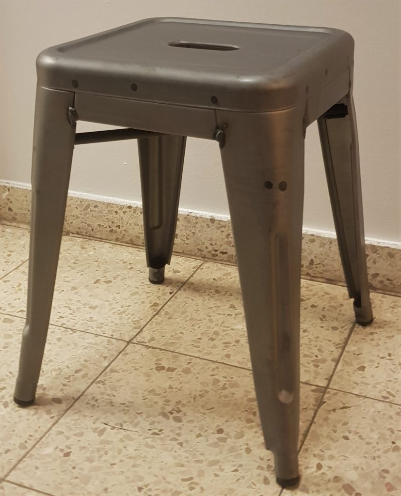 Small Tolix Bar Stool by Xavier Pauchard, designed 1934